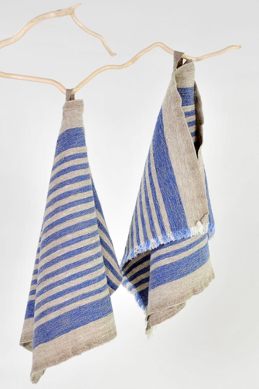 Blue striped kitchen towel Benjamin