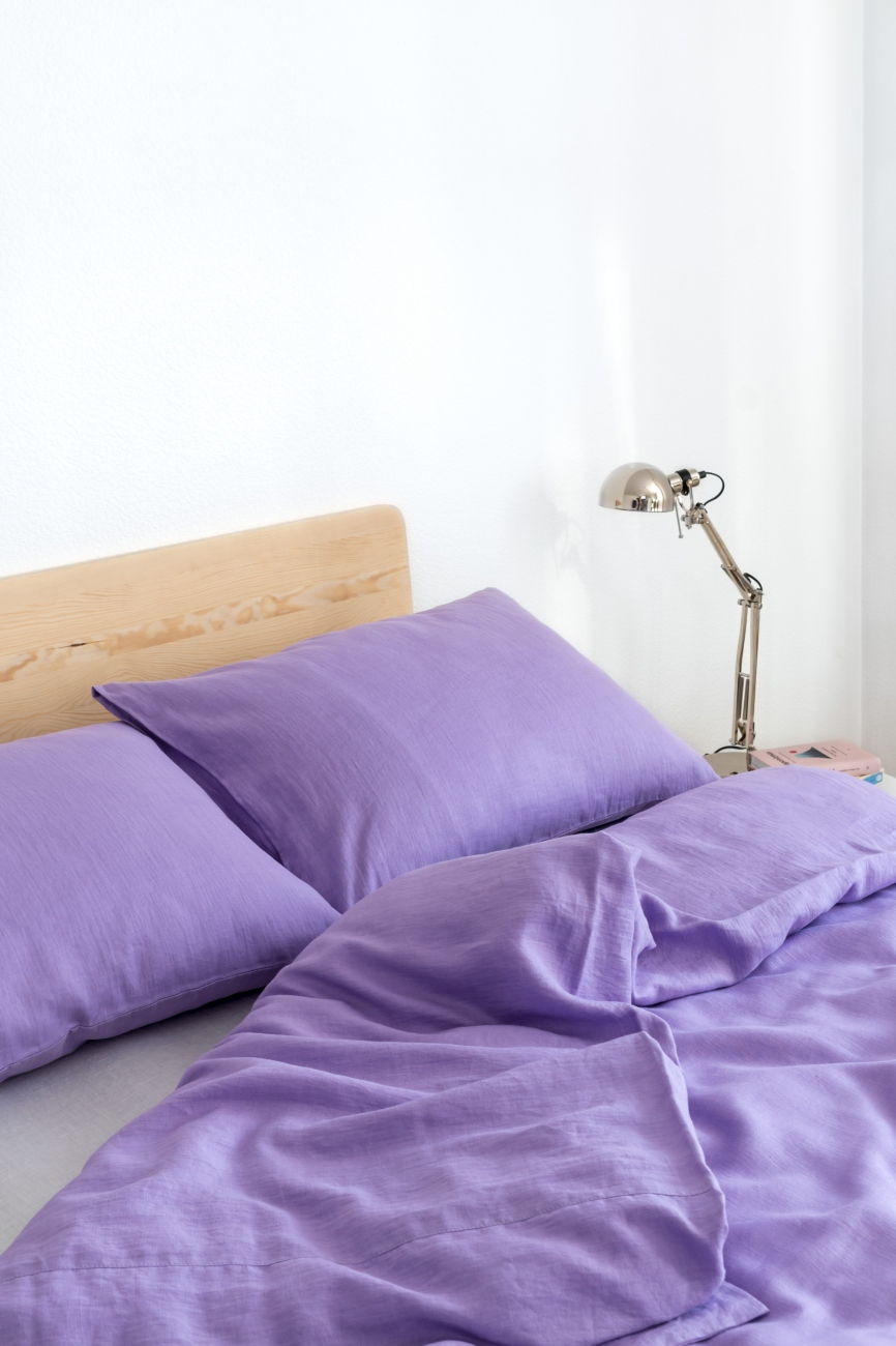Lavender Linen Bedding Set Linen Boutique