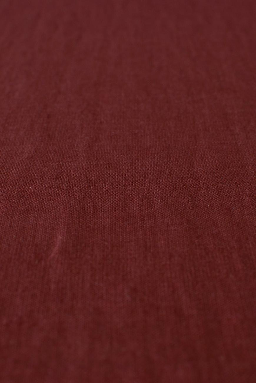 Marsala washed 100% linen fabric