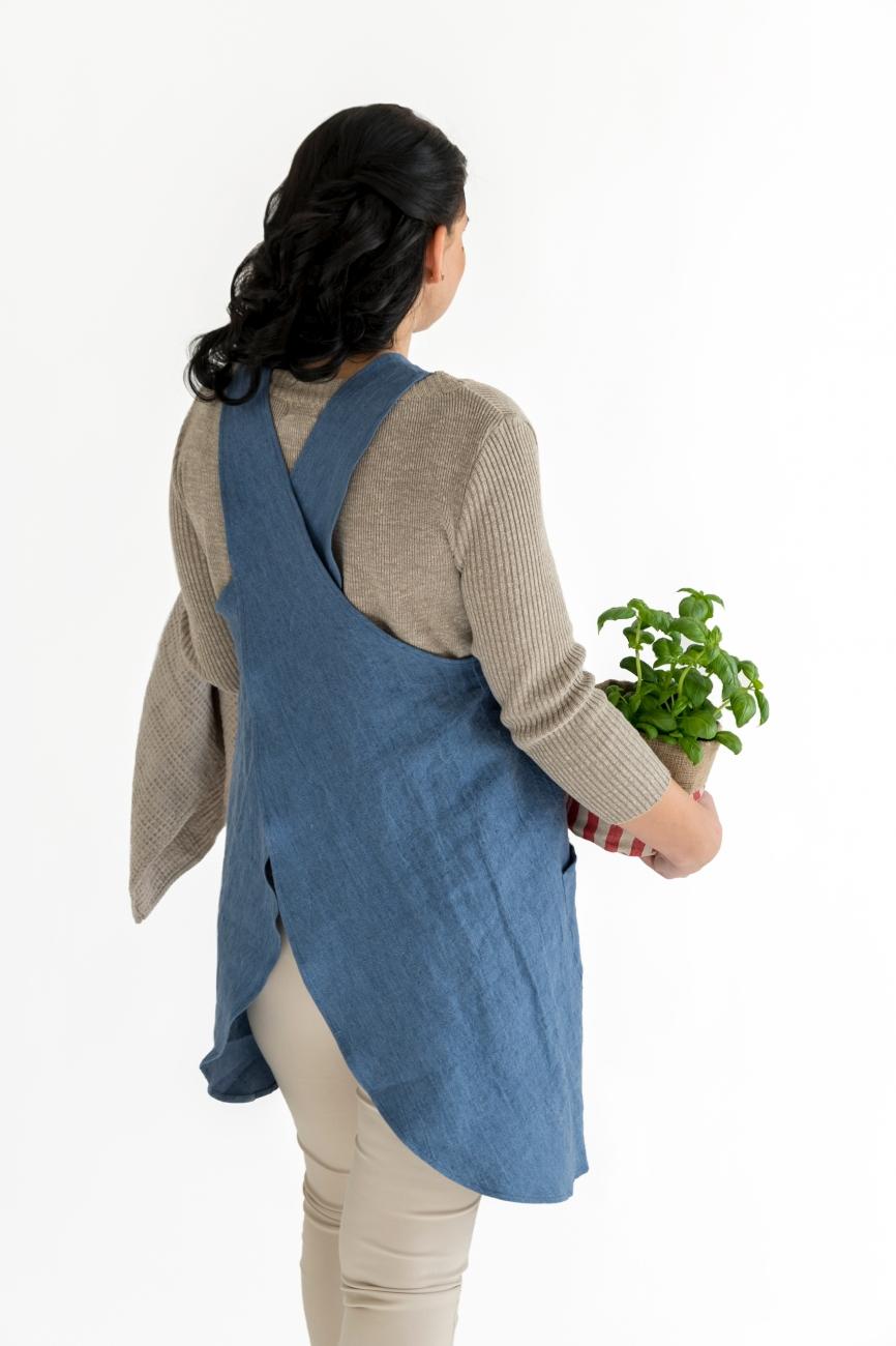 Mother & child cross-back apron set