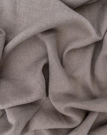 Natural washed linen fabric