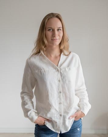 Off-white Loose linen shirt