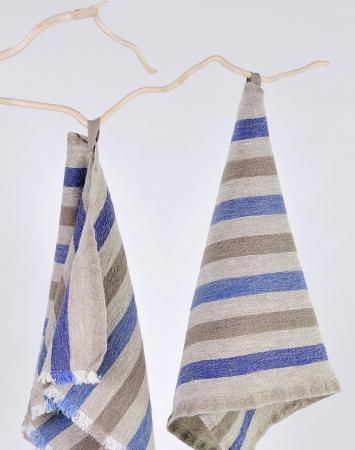 Striped kitchen towel Benjamin